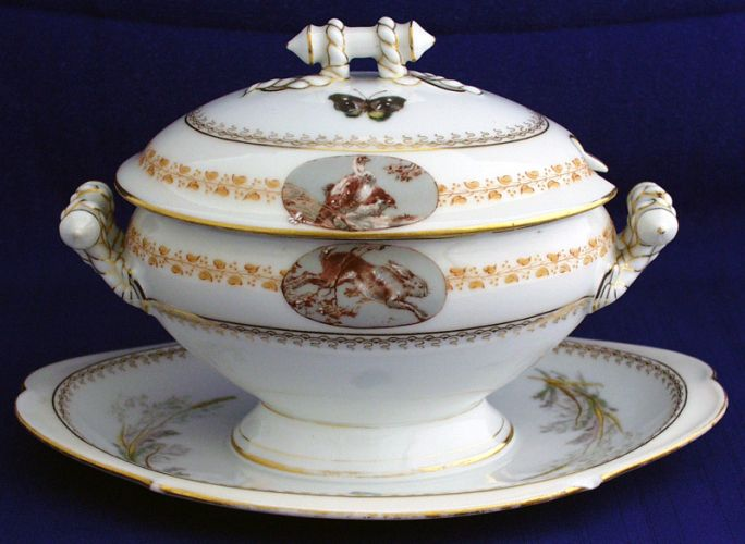 - Porcelaine de haviland ...